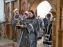 Архиерейское богослужение в нашем храме день празднования преподобномученицы Евдокии Илиопольской и мученицы Антонины Никейской