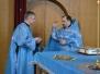 Божественная Литургия в Лазареву субботу, праздник Благовещения Пресвятой Богородицы