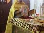 Божественная Литургия в Неделю 24-ю по Пятидесятнице, святителя Тихона, патриарха Московского и всея Руси