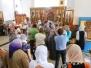 Божественная Литургия в Неделю 5-ю по Пятидесятнице, святого благоверного князя Петра и святой благоверной княгини Февронии