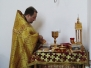 Божественная Литургия в Неделю 8-ю по Пятидесятнице, память святых отцев шести Вселенских Соборов