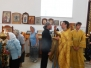 Всенощное бдение в Неделю 9-ю по Пятидесятнице, Почаевской иконы Божией Матери, святого праведного воина Феодора (Ушакова)