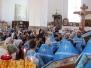 Всенощное бдение в престольный праздник Смоленской иконы Божией Матери